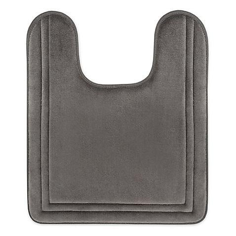 Smart Dry Trade 21 Inch X 24 Inch Memory Foam Contour Bath Mat In