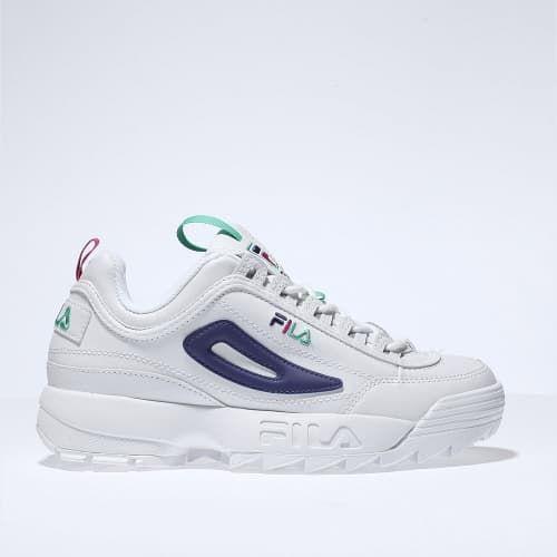 Fila disruptors, Kid shoes, Purple trainers