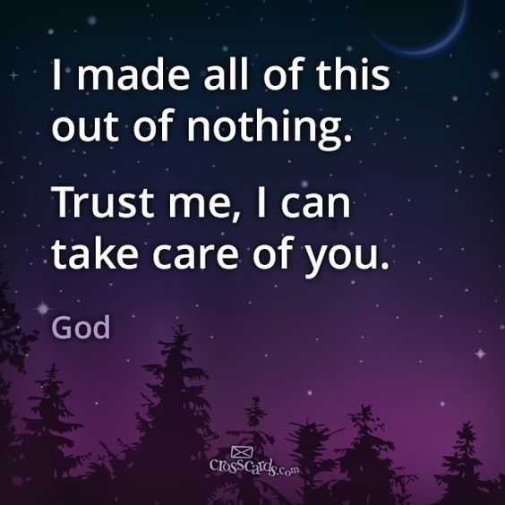 God's got this. #Trust Him. #faith: