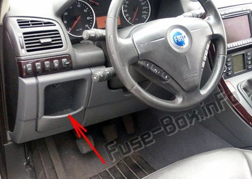 Fuse Box On Fiat Punto Mk2