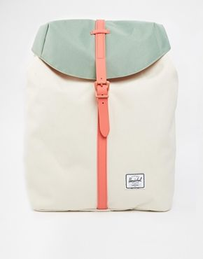 Agrandir Herschel Supply Co - Post - Sac à dos - Naturel