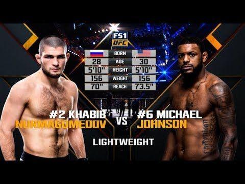 Ufc 242 Free Fight Khabib Nurmagomedov Vs Michael Johnson Youtube Ufc Fighters Ufc Ufc Fight Night