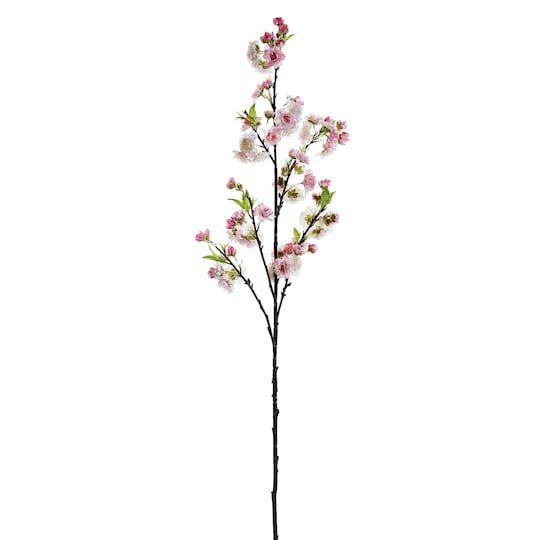 Pink Cherry Blossom Stem Flower Spray Cherry Blossom Flowers Pink Blossom