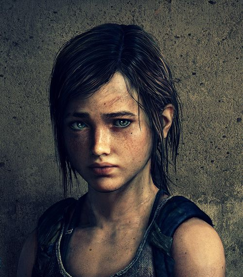 The Last of Us: Left Behind - Ellie. (Also, Left Behind has been out a week now, so spoilers are a-comin'. Just a warning.)
