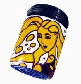 Spart bis zu 50% Wasser und Energie am Wasserhahn: AquaClic Venus Blonde aus Messing. Gesehen für € 24,95 bei kloundco.de.