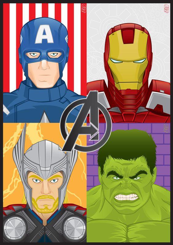 avengers_assemble__by_ghussain-d51okuq.jpg (752×1063)