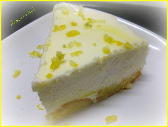 de sucre i sal: mini -tarta facil de mousse de limon