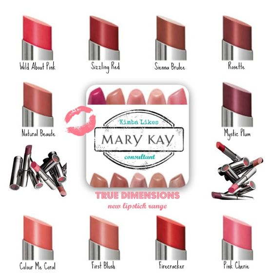 Mary Kay True Dimensions Lipstick. As a Mary Kay beauty consultant I can help you, please let me know what you would like or need. www.marykay.com/KathleenJohnson  www.facebook.com/KathysDaySpa