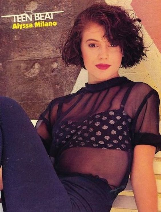 Alyssa Milano: Champion Of '90s Style | Alyssa milano, The ...