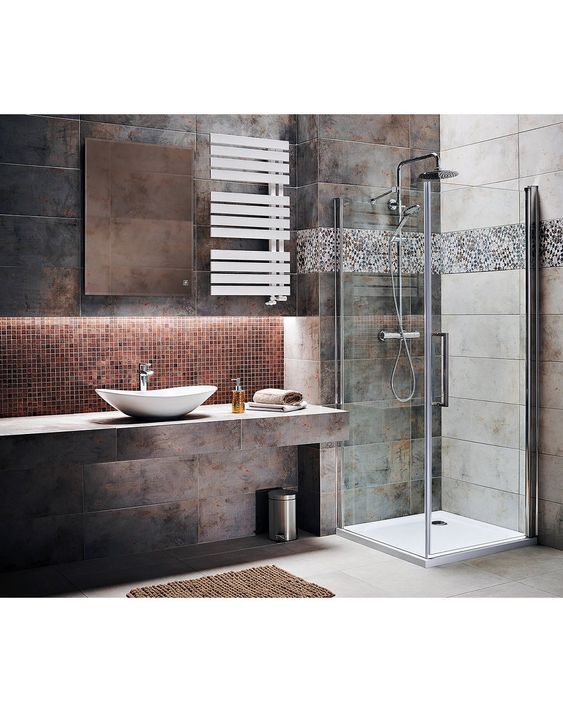 Obi Tiles Bathroom Vanity Bathtub
