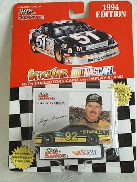 1994 Racing Champions 92 Larry Pearson Stanley Chevy Lumina 1 64 Busch Gn Racingchampions Chevrolet Nascar Diecast Racing Nascar