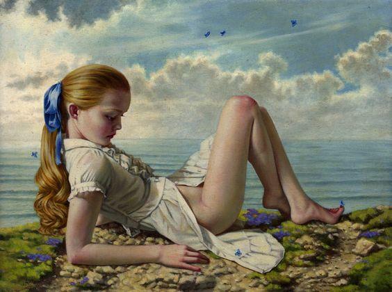 Goldilocks' Holiday by Jana Brike from Modern Eden Gallery