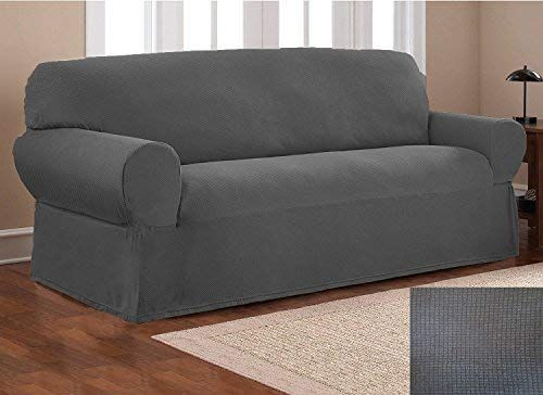 Elegant Home One Piece Stretch To Fit Sofa Cover Furniture Couch