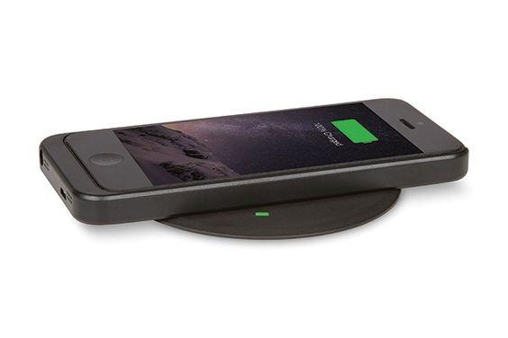 Mockett wireless charging grommet