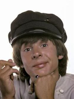 Davy Jones, my favorite Monkee. Swore I was gonna marry him one day.