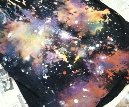 How to Make a Galaxy Shirt - Snapguide