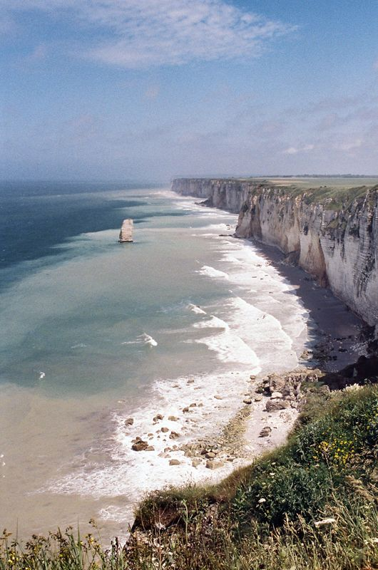 normandy. my great grandfather fought here. i believe this is what he received his purple heart for.