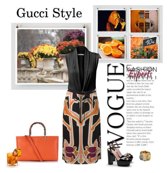 """Gucci Style"" by dmschar ❤ liked on Polyvore"