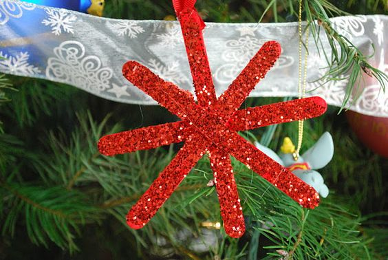 Mess For Less: Kid Made Christmas Ornaments