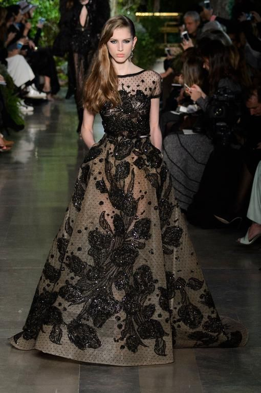 Défilé Elie Saab printemps-été 2015 Haute couture | Le Figaro Madame