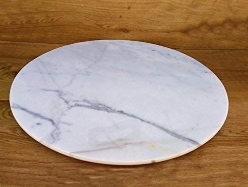 Marble Lazy Susan Turntable Rotating Tray Dining Table Centerpiece Serving Plate Large 22 Inch Marble Lazy Susan Dining Table Centerpiece Rotating Tray