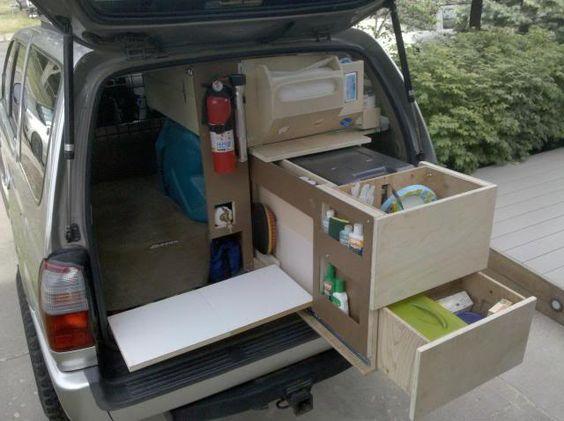 Kitchen Kit Chuck Box Expedition Portal Car Storage