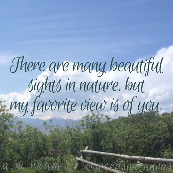 Do you have a favorite poet who has written many poems about nature?