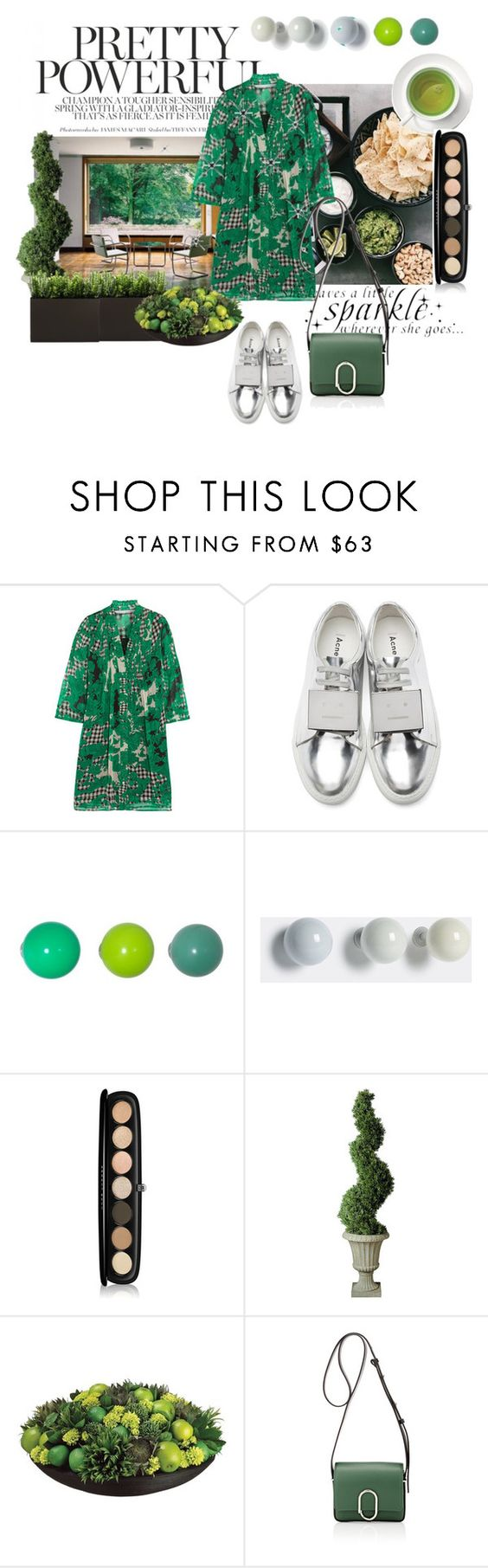 """""""Untitled #583"""" by vjola-v ❤ liked on Polyvore featuring Diane Von Furstenberg, Acne Studios, Vitra, Marc Jacobs, Improvements, Allstate Floral and 3.1 Phillip Lim"""