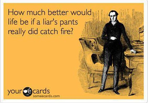 Haha that would be great! So many people would be up in flames