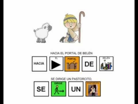 """""""Arre borriquito"""" - Canción con pictogramas ."""