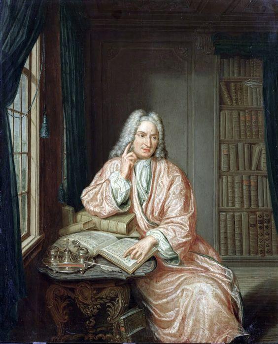 Hieronymus van der Mij - Portrait of Hendrik Snakenburg.