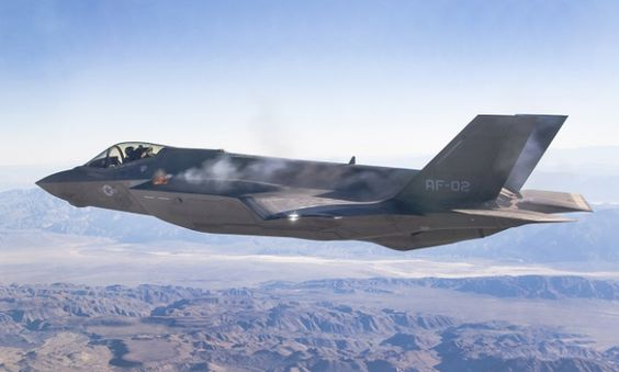 Shooting in flight for the F-35A @ Lockheed Martin