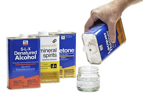 Will My Finishing Solvents Go Bad Over Time In 2020 Mineral Spirits Alcohol Acetone