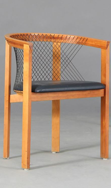 Deense vintage stoel - Niels Haugesen