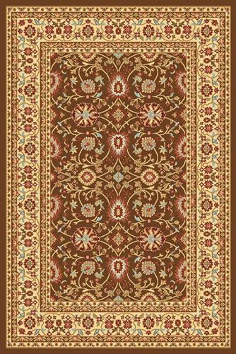 Dynamic Rugs Yazd 5.3X7.7 2803-610 Brown/Cream