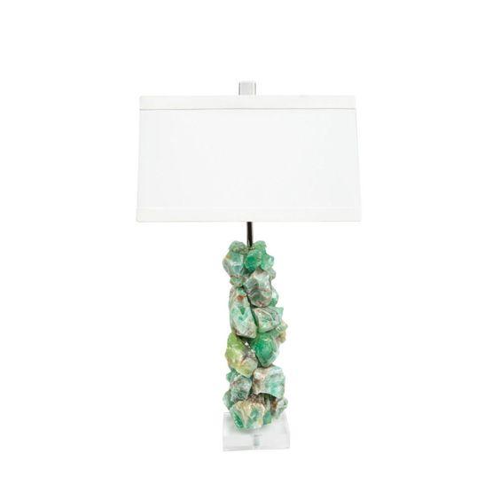 Calcite Lamp - Times Two Design - $1,980 - domino.com
