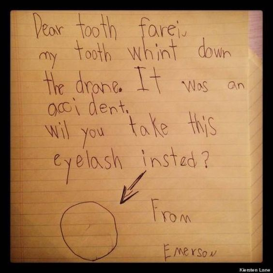 Substitute request for Tooth Fairy.