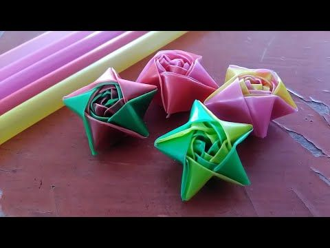 How To Make A Starw Star By Ria Nofaliana Youtube