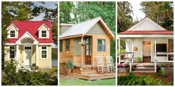 Estupendos Diseños De Casas Pequeñas pequeñas casas Pinterest