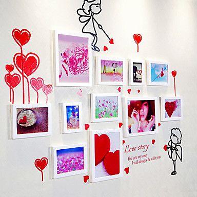 Estilo moderno Coleção Quadro Calorosamente Photo Wall - conjunto de 11 - BRL R$ 204,37