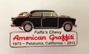 American Graffiti Pins, Badges & License Plates