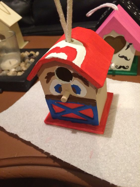 Super Mario Bird House Walk Now for Autism Speaks is an inspirational and impactful opportunity to raise money and awareness to help change the future for all those who struggle with autism. Participating in Walk Now for Autism Speaks empowers you to make a difference and provides you with an opportunity to honor someone with autism. I'm painting birdhouses to sell at our light it up for liv bake sale. Please like our facebook page @ https://www.facebook.com/lightitupforliv