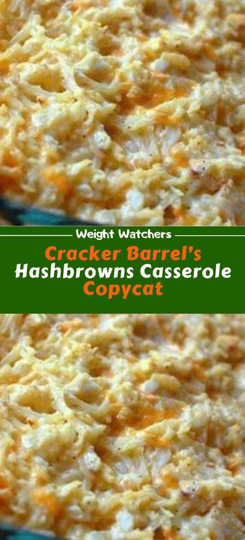 Cracker Barrel S Hashbrowns Casserole Copycat Frozen Hashbrown Recipes Hash Brown Casserole Healthy Eating Recipes
