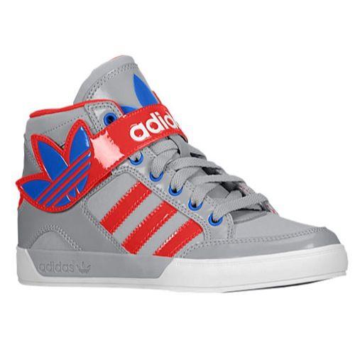 UK Store Sale - Adidas Originals Hard Court Hi Strap Boys Grade School Light Onyx/