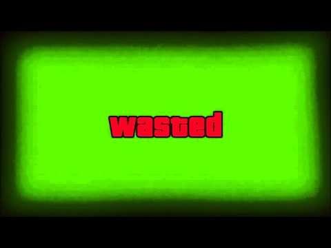 Wasted Gta Effect Green Screen Youtube Greenscreen Chroma Key Green Screen Video Backgrounds
