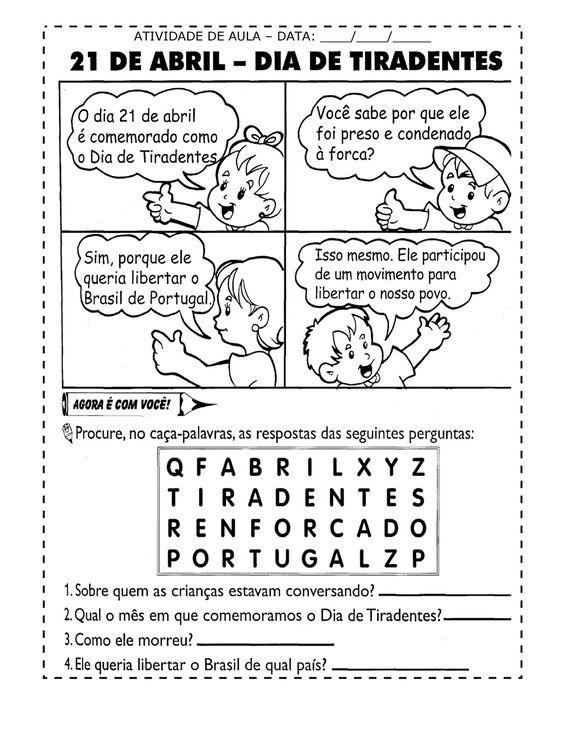 Para Todas As Crianças: Inconfidência Mineira - Tiradentes