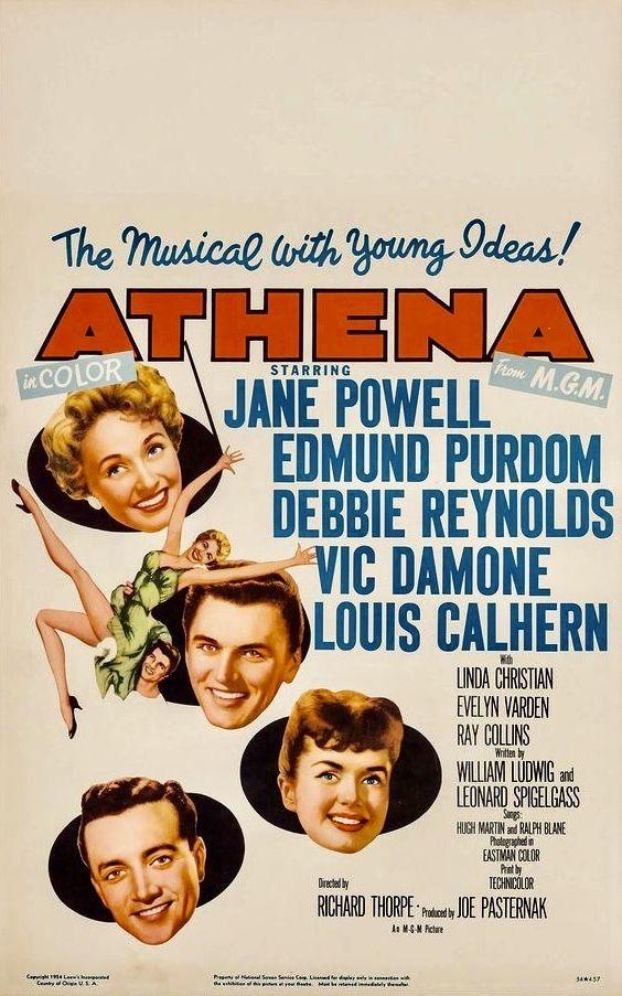 "ATHENA"" (MGM, 1954) Director: Richard Thorpe . Jane Powell as ..."