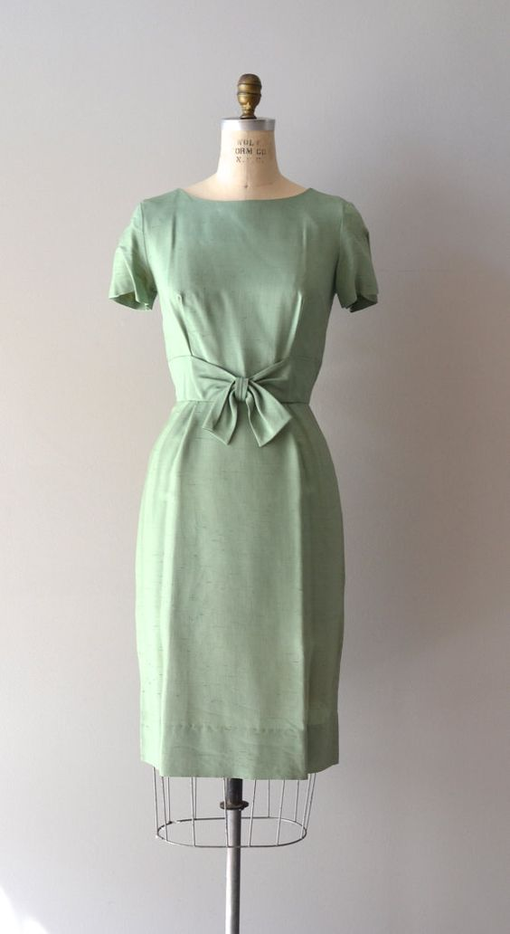 green mint hill dress