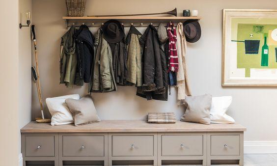 Coat rack, hallway furniture