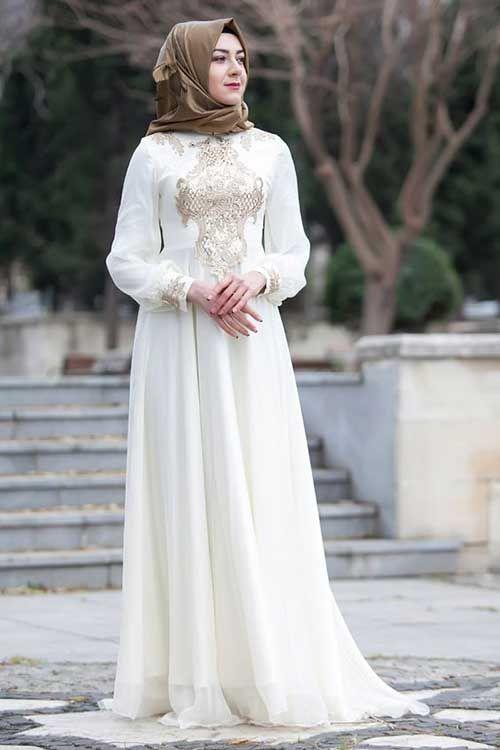 Islemeli Sade Nikah Elbisesi Modelleri Dantel Gelinlik The Dress Elbise